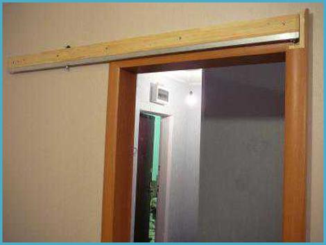 Установка раздвижной двери видео своими руками