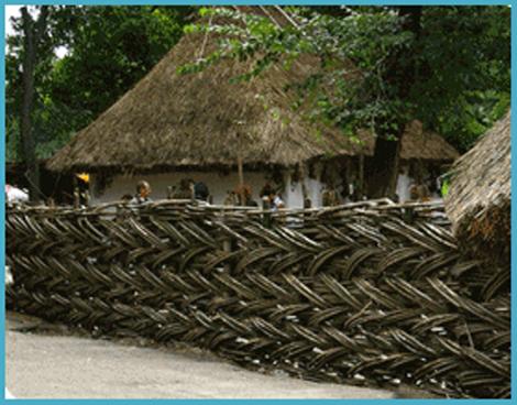 Забор плетеный своими руками