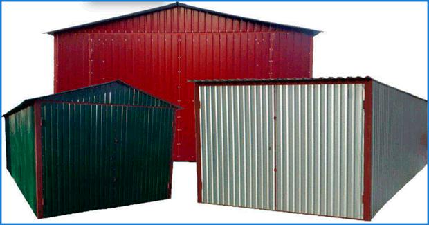 Сделать гараж из металлопрофиля своими руками