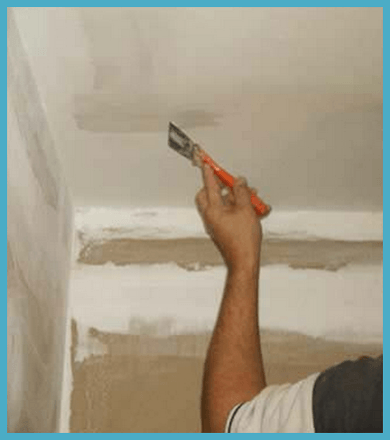 Побелка потолка и стен своими руками