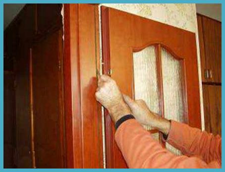 Установка межкомнатных дверей своими руками 5