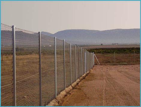 Забор из рабицы своими руками 1