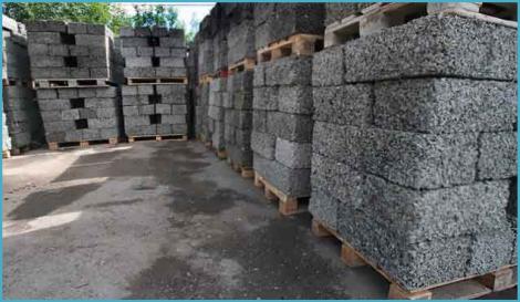Строительный материал арболит 3
