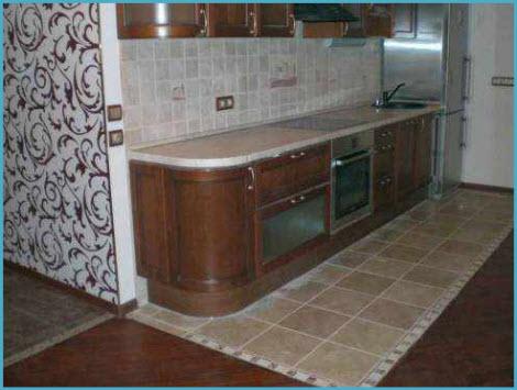Какой пол на кухне лучше 1