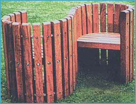 Садовая скамейка своими руками 1