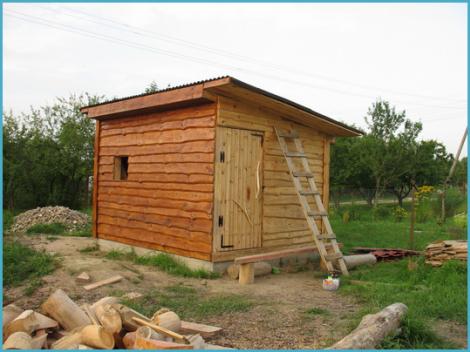 Фото деревянных построек своими руками