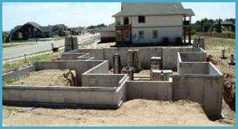 Фундамент на песчаном грунте 3