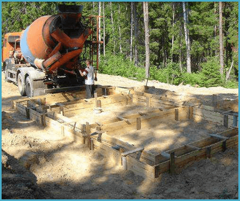 Фундамент из песка 153