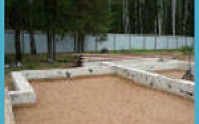 фундамент на песке