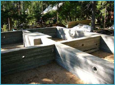 Фундамент на песчаном грунте 1
