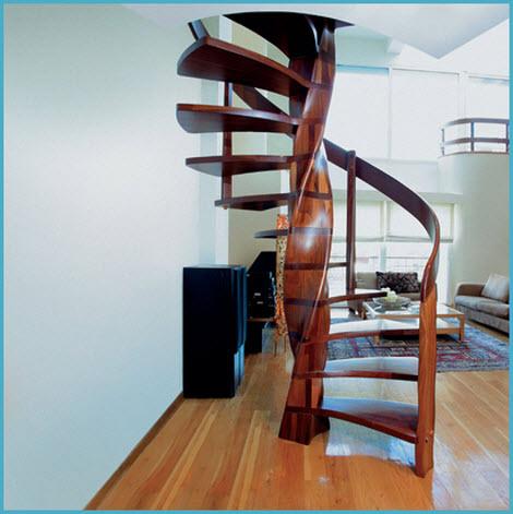 Деревянные лестницы для дома 5