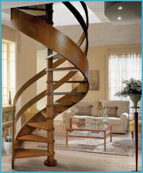 Деревянные лестницы для дома 4