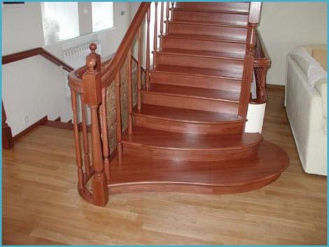Деревянные лестницы для дома 1