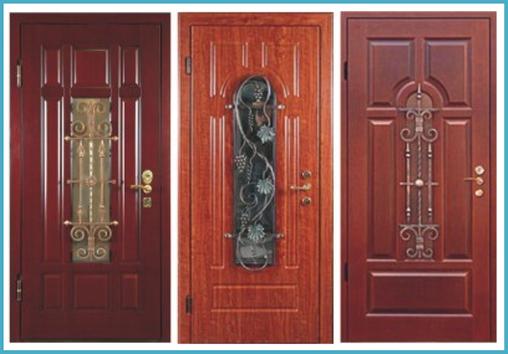 производство входных металлических дверей со стеклопакетом цена