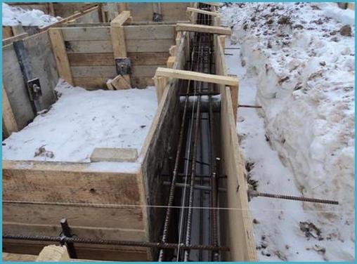 можно ли зимой заливать фундамент