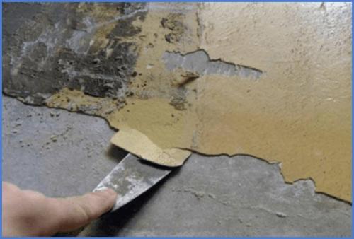Как снять водоэмульсионную краску - несколько способов