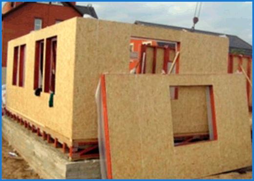 Строительство каркасно щитовых домов 1