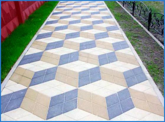 Виды тротуарной плитки 1