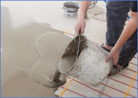 Ангидридная стяжка - свойства, плюсы и минусы