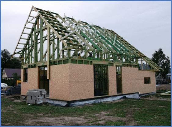 Кирпичный или каркасный дом