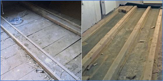 Ремонт пола и напольного покрытия