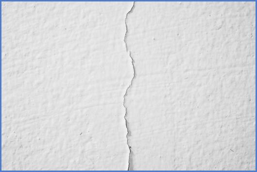 Трещины на стене 4
